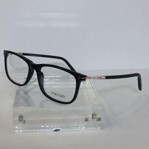 f14c5e35e0 Tom Ford Accessories - Tom Ford FT 5398 001 Black Plastic Eyeglasses 55mm